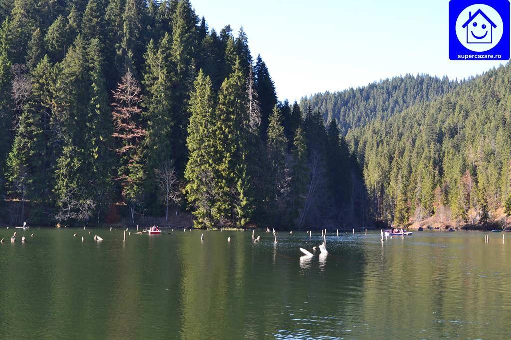 lacul rosu cheile bicazului supercazare